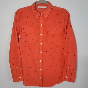 Abercrombie & Fitch   XS   Bee Button Up Shirt